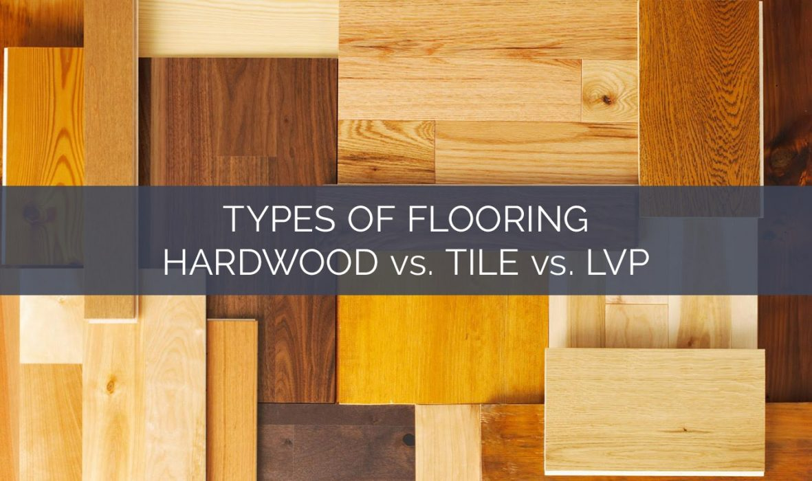 photo of overlaying floor material swatches