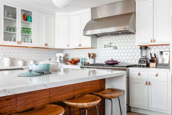 photo of beautiful kitchen