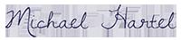 Michael Hartel signature